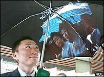 Paraguas con Internet