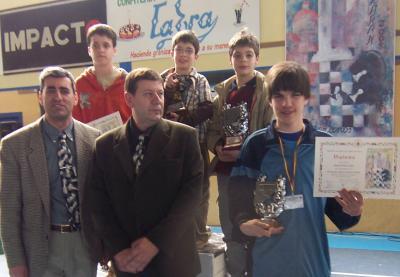 Un alumno de diversificación consigue el 3er puesto en el campeonato regional de ajedrez.